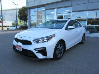 Used 2019 Kia Forte EX Heated front seats and steering wheel/ back-up camera/ blind spot indicator/ Lane departure warning system/ Android Auto and Apple car Play/ wireless phone charger/ Forward collision avoidance for sale in Mississauga, ON