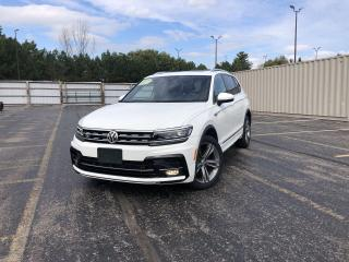 Used 2018 Volkswagen Tiguan HIGHLINE RLINE 4MOTION AWD for sale in Cayuga, ON