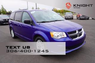 Used 2019 Dodge Grand Caravan SXT | B/U Camera | DVD | Satellite Radio for sale in Weyburn, SK