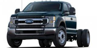 New 2022 Ford F-550 Super Duty DRW 4X4 SUPERCAB CHAS CA for sale in Abbotsford, BC