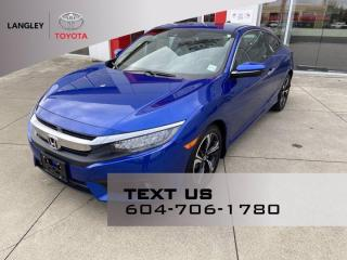 Used 2018 Honda Civic COUPE Touring for sale in Langley, BC