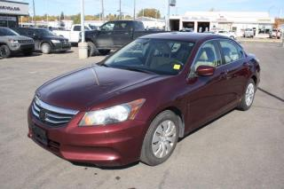 Used 2012 Honda Accord Sdn LX for sale in Swift Current, SK