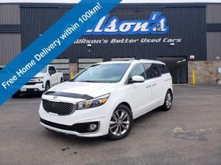 Used 2018 Kia Sedona SXL, Navigation, Sunroof, 360 Camera, Second Row First-Class Lounge Seats, Alloys & Much More! for sale in Guelph, ON