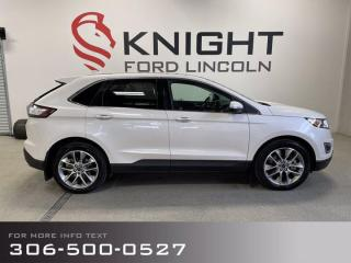 Used 2018 Ford Edge Titanium, Local trade, Ready for winter! for sale in Moose Jaw, SK
