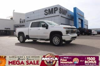 Used 2020 Chevrolet Silverado 2500 HD High Country- 4x4, Rem Start, Sunroof, Heated/Cooled Leather for sale in Saskatoon, SK