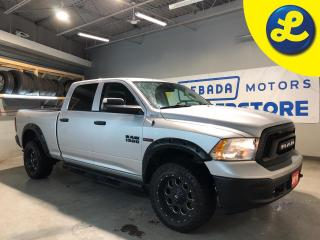 Used 2016 RAM 1500 Crew Cab 4X4 3.0 V6 Eco Diesel  *  33x12 Fuel Rims *  Side Steps * Rebel Grille * Hands Free Calling * Back Up Camera * Keyless Entry * Trailer Receiv for sale in Cambridge, ON