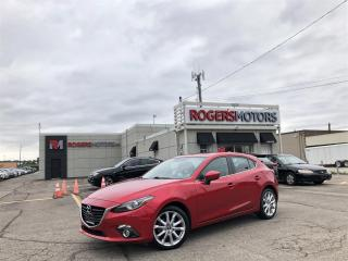 Used 2016 Mazda MAZDA3 - GT - HATCH - NAVI - SUNROOF - LEATHER for sale in Oakville, ON