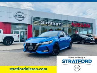 New 2021 Nissan Sentra SR for sale in Stratford, ON