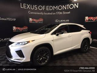 New 2022 Lexus RX 350 F SPORT SERIES 3,PREMIUM PAINT for sale in Edmonton, AB