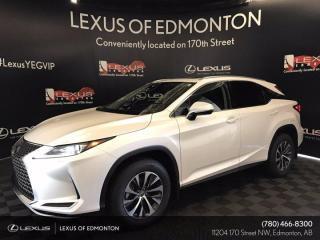 New 2022 Lexus RX 350 PREMIUM,PREMIUM PAINT for sale in Edmonton, AB