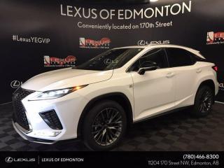 New 2022 Lexus RX 350 F Sport SERIES 2 for sale in Edmonton, AB