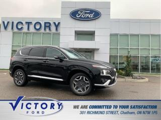 Used 2021 Hyundai Santa Fe Ultimate Calligraphy | AWD | NAV | PANO SUNROOF for sale in Chatham, ON