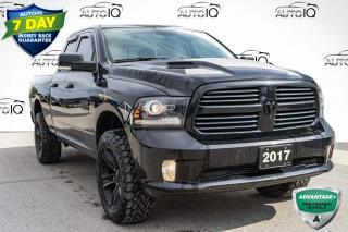 Used 2017 RAM 1500 Sport QUAD CAB SPORT for sale in Innisfil, ON