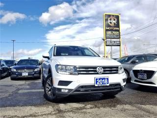 Used 2018 Volkswagen Tiguan No Accidents| Comfortline 4MOTION -Ltd |Certified for sale in Brampton, ON