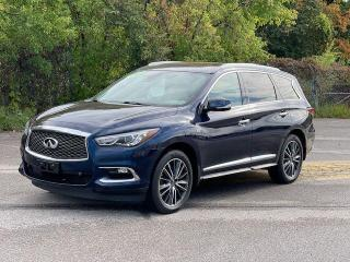Used 2017 Infiniti QX60 Technology,LEATHER,PANORAMIC SUNROOF,NAVIGATION for sale in North York, ON