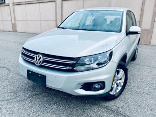 Used 2012 Volkswagen Tiguan Comfortline 4Motion Alloy Certified $9999 for sale in Brampton, ON