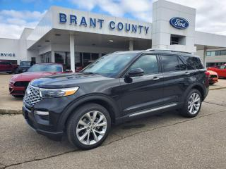 New 2021 Ford Explorer Platinum for sale in Brantford, ON