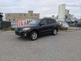 Used 2010 Hyundai Santa Fe Limited AWD  I $0 DOWN - EVERYONE APPROVED! for sale in Calgary, AB