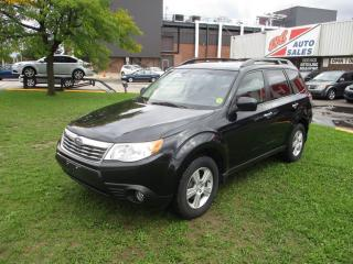 Used 2009 Subaru Forester X w/Premium Pkg ~ PANO ROOF ~ ALLOYS ~ CERTIFIED for sale in Toronto, ON
