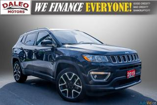 Used 2019 Jeep Compass LIMITED / NAVI / LEATHER / REMOTE START / PANOROOF for sale in Hamilton, ON