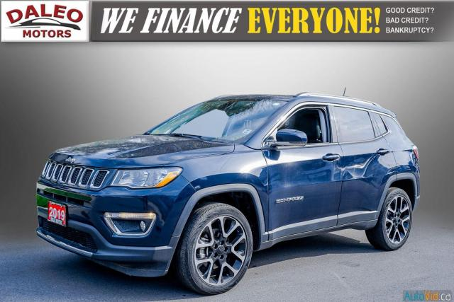 2019 Jeep Compass LIMITED / NAVI / LEATHER / REMOTE START / PANOROOF Photo3