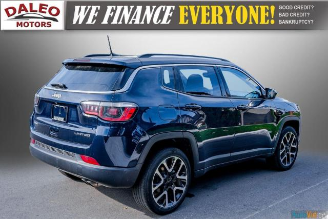 2019 Jeep Compass LIMITED / NAVI / LEATHER / REMOTE START / PANOROOF Photo7