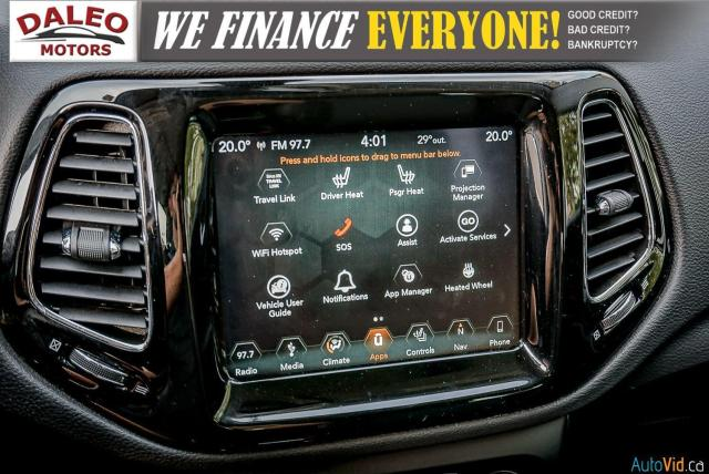 2019 Jeep Compass LIMITED / NAVI / LEATHER / REMOTE START / PANOROOF Photo25