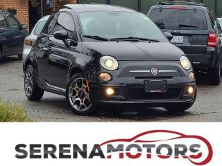 Used 2013 Fiat 500 SPORT | RED INT | HTD SEATS | PANO ROOF | NO ACCID for sale in Mississauga, ON