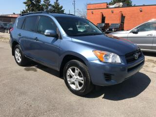 Used 2010 Toyota RAV4 AWD,4CYL,ALLOYS,GAS SAVER,$10400,CERTIFIED for sale in Toronto, ON