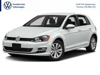 Used 2017 Volkswagen Golf 1.8 TSI Trendline LOW LOW KM LOCAL CPO for sale in Toronto, ON
