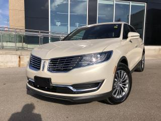 Used 2016 Lincoln MKX Select SYNC|CLIMATE|SELECT PLUS|LEATHER|NAV for sale in Barrie, ON
