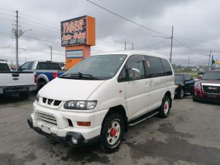 Used 2001 Mitsubishi Delica SPACE GEAR*CHAMONIX*4X4*ONLY 144KMS*BED*SINK* for sale in London, ON