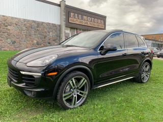 Used 2016 Porsche Cayenne S AWD NAVI REAR VIEW CAM 420HP PANO ROOF 22 INCH for sale in North York, ON