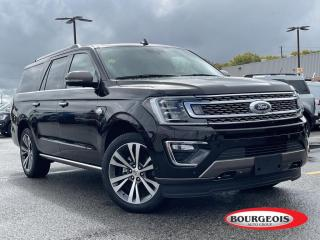 Used 2021 Ford Expedition Max King Ranch LEATHER HEATED SEATS/ STEERING, NAVIGATION for sale in Midland, ON