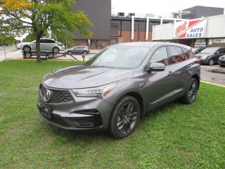 Used 2019 Acura RDX A-Spec ~ PANO ROOF ~ NAV ~ REAR CAMERA ~ LOW KM for sale in Toronto, ON