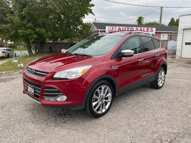 2014 Ford Escape Accident Free/4WD/PanoRoof/BT/Rev Camera/Certified