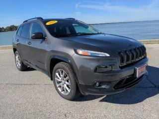 Used 2018 Jeep Cherokee North Low K's 4x4 Heated Seats Bluetooth Rear Cam for sale in Belle River, ON