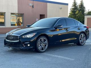 Used 2014 Infiniti Q50 Sport AWD Navigation /Sunroof /Camera for sale in North York, ON