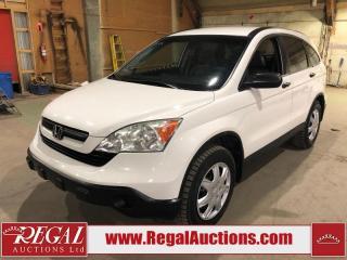 Used 2008 Honda CR-V LX 4D Utility AWD for sale in Calgary, AB