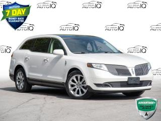 Used 2013 Lincoln MKT EcoBoost Power Liftgate | Premium Leather Front Bucket Seats | Electronic Stability Control for sale in St Catharines, ON