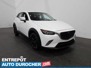 Used 2016 Mazda CX-3 GS AWD Cuir- Navigation- Toit ouvrant- Climatiseur for sale in Laval, QC