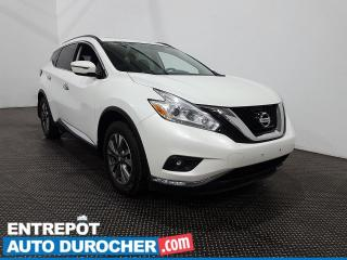 Used 2016 Nissan Murano SV AWD Toit panoramique- Navigation- Climatiseur for sale in Laval, QC