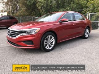 Used 2020 Volkswagen Passat Highline LIKE NEW  LEATHERETTE  ROOF  HTD SEATS  B for sale in Ottawa, ON
