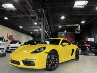 Used 2019 Porsche 718 Cayman PDK !! ONE OWNER !! ACCIDENT FREE !! CONNECT PLUS for sale in North York, ON