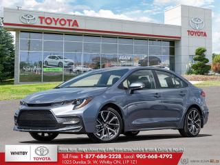 New 2022 Toyota Corolla SE UPGRADE 6M for sale in Whitby, ON