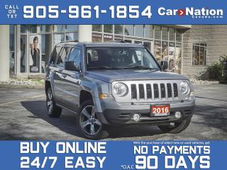 Used 2016 Jeep Patriot High Altitude 4x4| LEATHER| SUNROOF| LOCAL TRADE| for sale in Burlington, ON