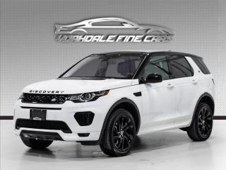 Used 2018 Land Rover Discovery Sport HSE Luxury Dynamic, Navigation, Camera, Panoramic, Loaded for sale in Concord, ON
