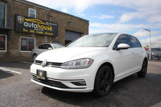 Used 2018 Volkswagen Golf HIGHLINE /LEATHER /SUNROOF /APPLE CARPLAY /BACKUP CAMERA for sale in Newmarket, ON