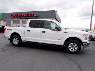 Used 2017 Ford F-150 XLT SuperCrew 4WD 2.7L Eco Boost Bluetooth Certified for sale in Milton, ON