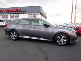 Used 2019 Honda Civic LX Sedan Automatic Camera Bluetooth Certified for sale in Milton, ON